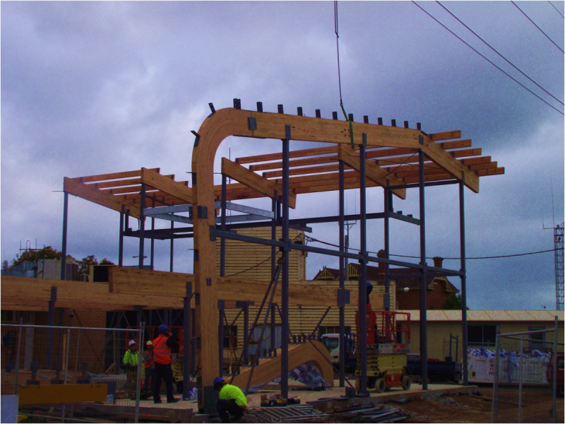 architectural timber beams