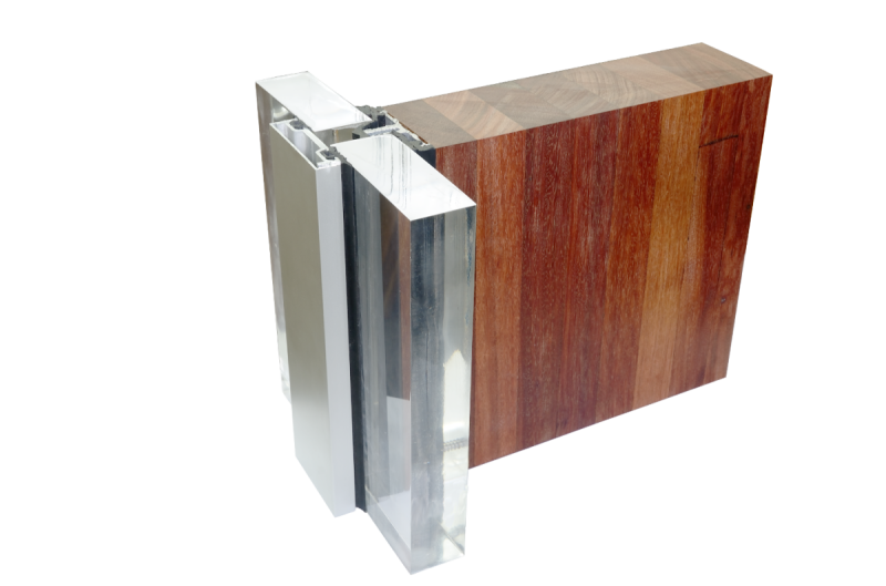 Timber Curtain Wall
